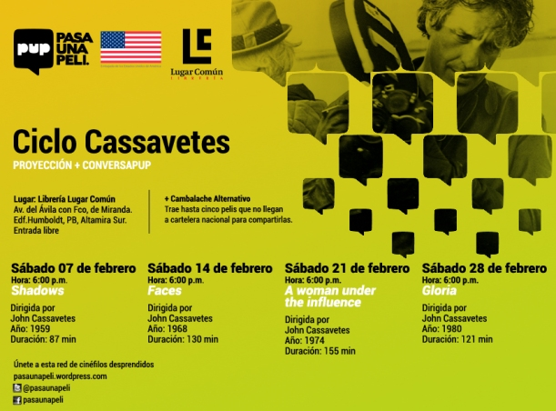 Ciclo Cassavetes textojunto