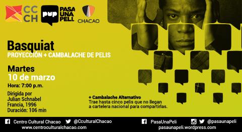 Claqueta Basquiat