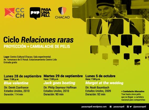 CCCHACAO CICLO RELACIONES RARAS (para twitter y demás redes. GRANDE)